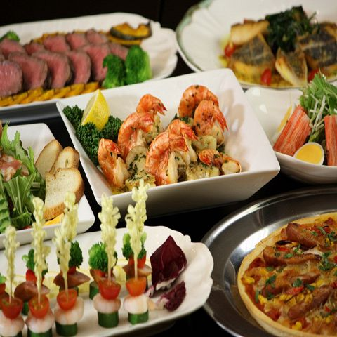 歓送迎会・謝恩会プラン【エグゼクティブ】 彩り豊かな前菜から旬の素材までお楽しみ頂けます