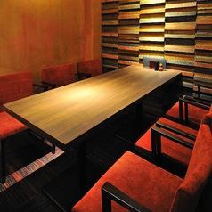 4名様~6名様までご利用いただける完全個室。接待や会社宴会、記念日など各種宴会におすすめです♪
