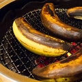 料理メニュー写真焼きバナナアイスクリーム