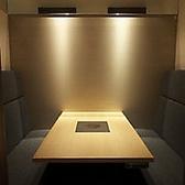 お子様連れでも便利な人気のソファー個室。