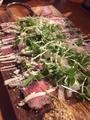 料理メニュー写真ローストビーフのカルパッチョ