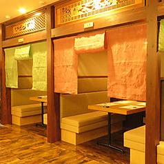 塩釜-石巻-女川-志津川-気仙沼5つの個室はテーブル個室。くつろぎながらお食事をご堪能下さい!