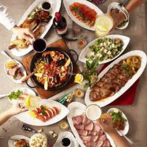 【貸切パーティーにぴったりプラン♪】豪華♪肉料理+ゆったり150分飲み放題&食後にケーキも◎
