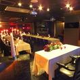【中央セッティング後】ターンテーブルはクラブシーンでも人気のCDJ-850を設置音響・照明・映像でライブ感あふれる演出も可能。素敵なパーティをお約束致します。結婚式二次会・同窓会・誕生日・記念日・会社の季節毎の宴会・学生の打ち上げなど様々なシーンの宴会にもご利用頂けます♪