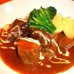 牛肉の和風ブラウンソース煮
