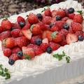 料理メニュー写真オリジナルケーキ