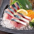 料理メニュー写真鯖の刺身