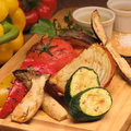 料理メニュー写真焼き野菜盛合せ