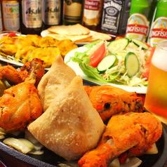 インド レストラン マターのコース写真