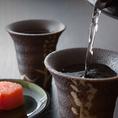 【完全個室/寿司/和食】海鮮・寿司・和食、それぞれに合うドリンクを取り揃えております。特に焼酎は九州ならではのこだわりを持った銘柄を厳選。自分に合った一本をぜひ見つけてください。