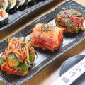 料理メニュー写真スペシャルキムチ、キムチの盛り合わせ