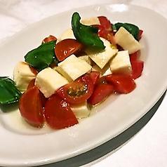 料理メニュー写真プチトマト&モッツァレラのマリネ