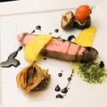 料理メニュー写真合鴨ロースのステーキ 赤ワインソース