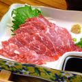料理メニュー写真馬刺し(熊本県産)