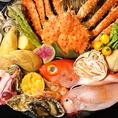 北海道直送の海鮮をたっぷりとお楽しみ頂けます!!海鮮以外にもお肉メニューや北海道名物料理など、自慢の逸品を取り揃えております☆