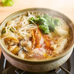 料理メニュー写真豪華海鮮鍋