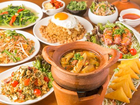 ゴールデンバガン ミャンマーアジアレストラン