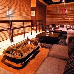 合コンや宴会にぴったりな個室のご用意★ゆったりソファーでくつろいでいただけます!