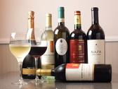 お食事に合わせてワインメニューを各種ご用意しております