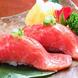 レアステーキ握り寿司風