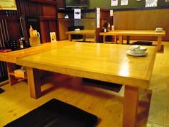テーブルは、4名席×3、2名席×3