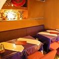 ◆半個室・10名~のお席◆半個室の貸切も可能♪8名~貸切にも!!宇田川カフェプロデュースのオシャレな店内で是非タイ料理をご堪能くださいませ!!(渋谷/肉/女子会/誕生日)