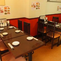 テーブル席は最大40名様までご利用いただけます!