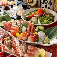市場より毎朝仕入れる鮮魚は日本酒との相性も抜群!