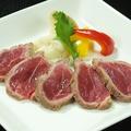 料理メニュー写真ラム肉のたたき