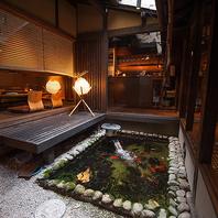 【大人の隠れ家】京町家を改装した落ち着いた店内