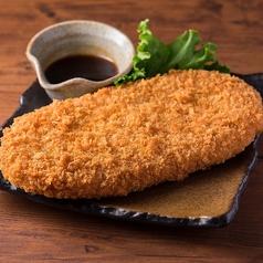 料理メニュー写真■馬鈴薯のジャンボコロッケ