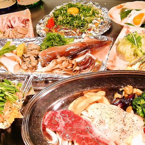 【笑笑コース】料理10品 満腹・満足 料理盛り沢山!