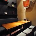 テーブル席はアレンジ可能なので各種宴会に最適です◎
