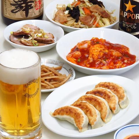 定食やセットメニューが充実していて気軽に食事が楽しめる家庭的な中華料理店!