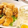 料理メニュー写真鶏の唐揚げ(塩こしょう/ガーリックソース/おろしポン酢)