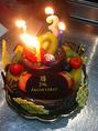 誕生日ケーキなどご相談ください♪