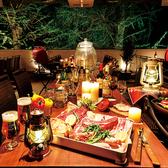 開放感抜群!冷暖房完備の快適テラス席でBBQパーティー♪テーブルを繋げれば14名/16名/32名/最大54名まで対応★