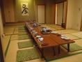 ご家族のお祝いや会社様の忘年会等各種ご宴会に最適なお部屋です。