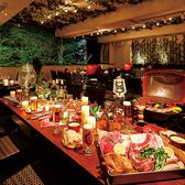 テラス個室は最大54名様まで対応!開放感抜群のプライベート空間でBBQパーティーをお愉しみくださいませ!