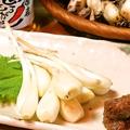 料理メニュー写真島らっきょの天ぷら(写真は生です)