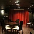 【ステージ◎】主役達の為のお席も作れます♪『そこの君~ちょっとステージに上がって来て!』ゲスト出演なんかもあるかも!?