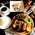 料理メニュー写真岐阜県産銘柄豚『美濃けんとん』100%ハンバーグ(セット)