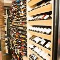 全世界の厳選ワイン♪役450本を常時ご用意!