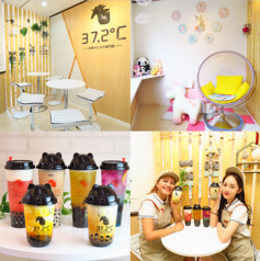 タピオカドリンク専門店 37.2℃の写真