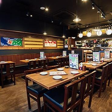 炭火串焼と旬鮮料理の店 やさい巻き串の獅志丸の雰囲気1