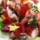 料理メニュー写真魚介いろいろ海鮮サラダ
