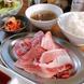 和牛&アグー豚の賄い盛り定食(1980円)