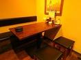 個室でお食事時間を更に安心してお楽しみいただけるように、個室内にも喚起設備を設置しております。