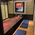 落ち着く空間個室は合コンや女子会にお薦め☆飲み放題コースも豊富です。
