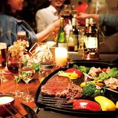 雰囲気抜群の快適テラス席は8名×5テーブルご用意!アメリカ製BBQグリルでワンランク上のお洒落BBQパーティーをお愉しみくださいませ!